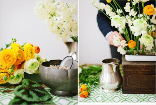Easy Diy Floral Weding Centerpiece