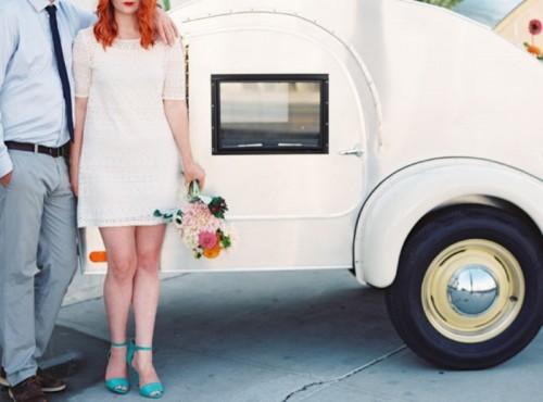 Eclectic And Fun Vegas Elopement Wedding