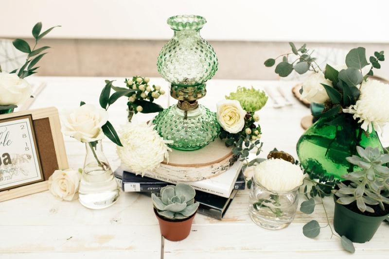 Picture Of eclectic chemistry inspired wedding shoot at the atlantic art center  10