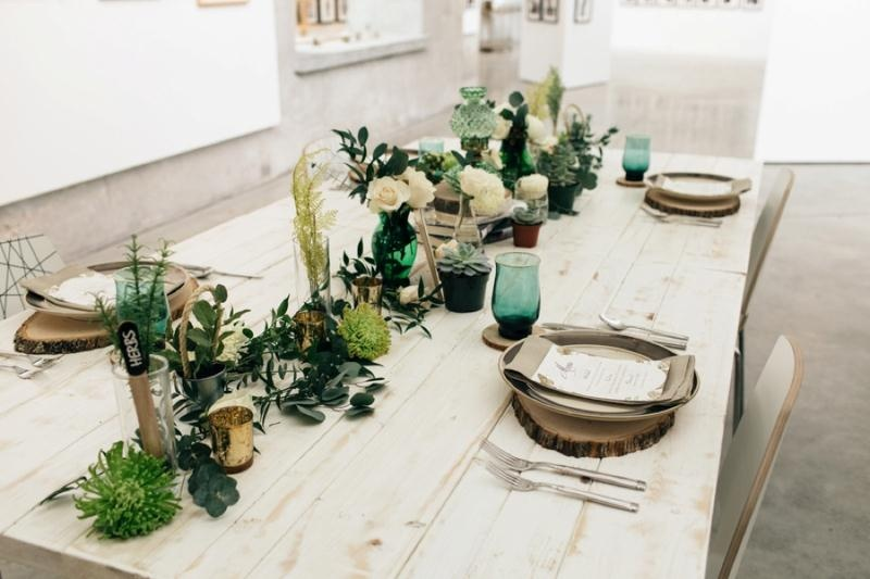 Picture Of eclectic chemistry inspired wedding shoot at the atlantic art center  13