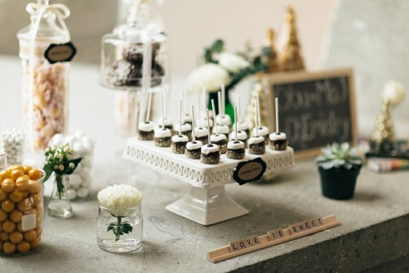 Picture Of eclectic chemistry inspired wedding shoot at the atlantic art center  18
