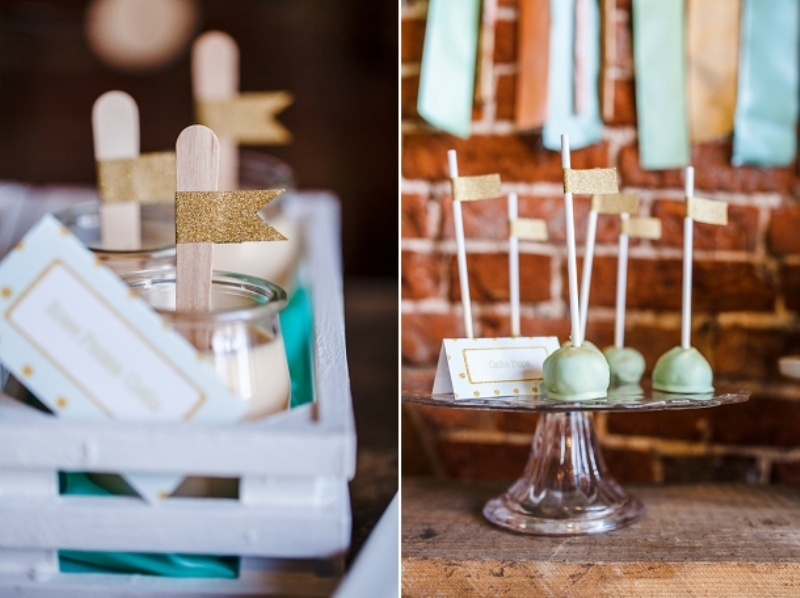 Eclectic Rustic And Glam Dessert Table Inspiration