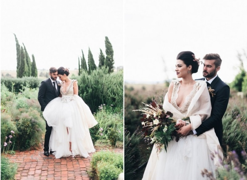 Picture Of eclectic tuscany meets africa wedding inspirational shoot  12