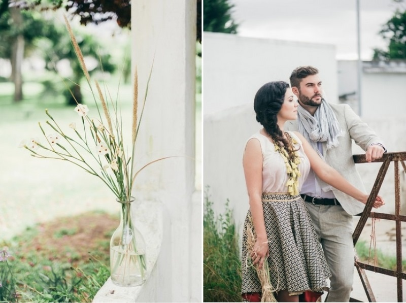 Picture Of eclectic tuscany meets africa wedding inspirational shoot  5