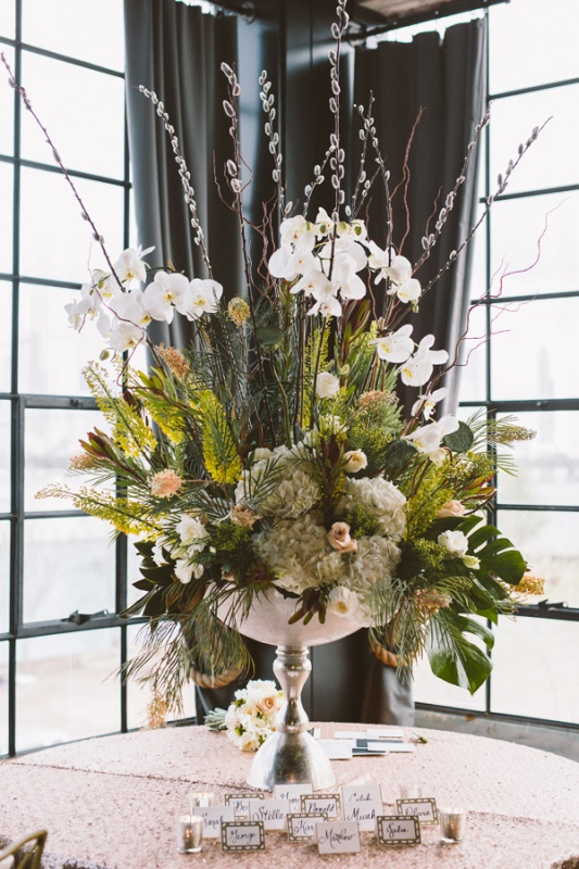 Picture Of eclectic wedding inspiration with industrial and art deco feel  10