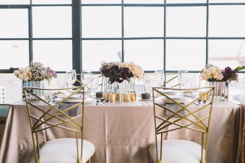 Picture Of eclectic wedding inspiration with industrial and art deco feel  12