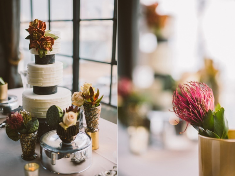 Picture Of eclectic wedding inspiration with industrial and art deco feel  14
