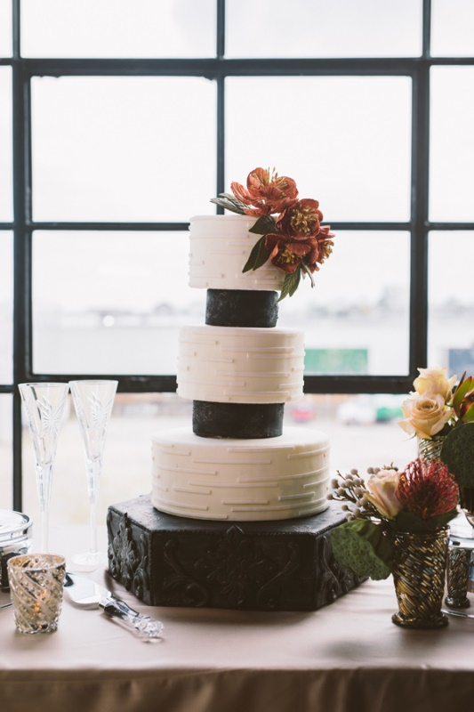 Picture Of eclectic wedding inspiration with industrial and art deco feel  15