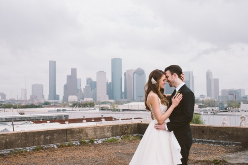 Picture Of eclectic wedding inspiration with industrial and art deco feel  16