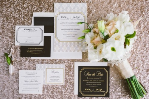Eclectic Wedding Inspiration With An Industrial And Art Deco Feel