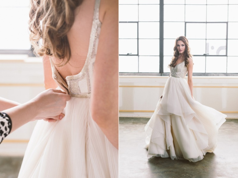 Picture Of eclectic wedding inspiration with industrial and art deco feel  5