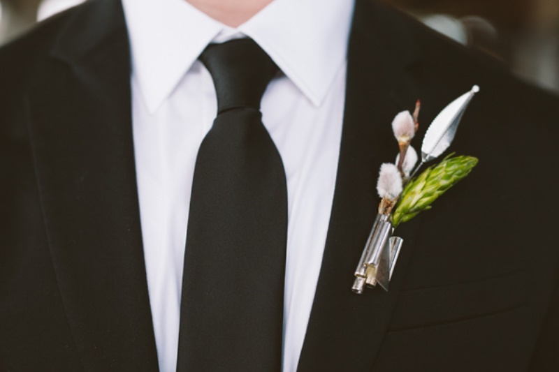 Picture Of eclectic wedding inspiration with industrial and art deco feel  6