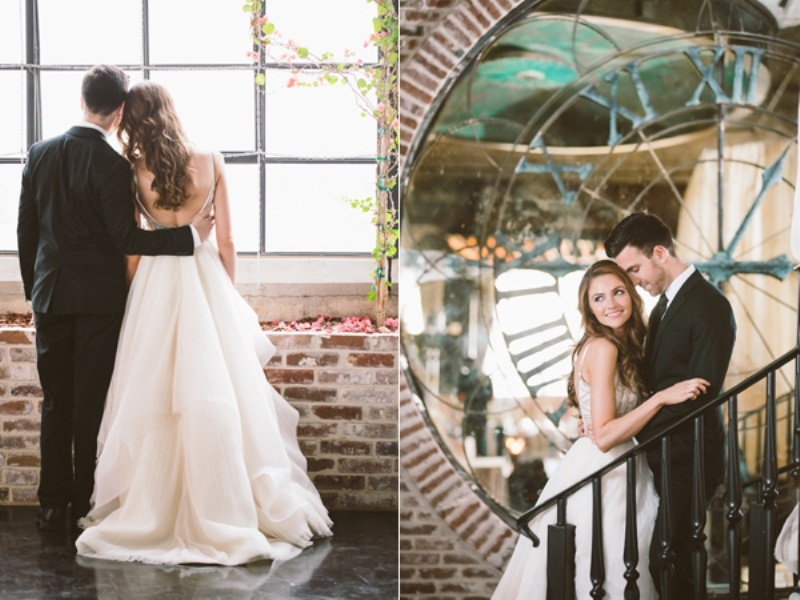 Picture Of eclectic wedding inspiration with industrial and art deco feel  8