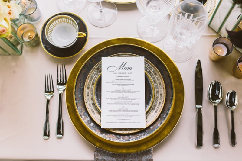 Picture Of eclectic wedding inspiration with industrial and art deco feel  9