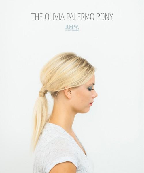 Effortlessly Chic DIY Olivia Palermo Inspired Ponytail