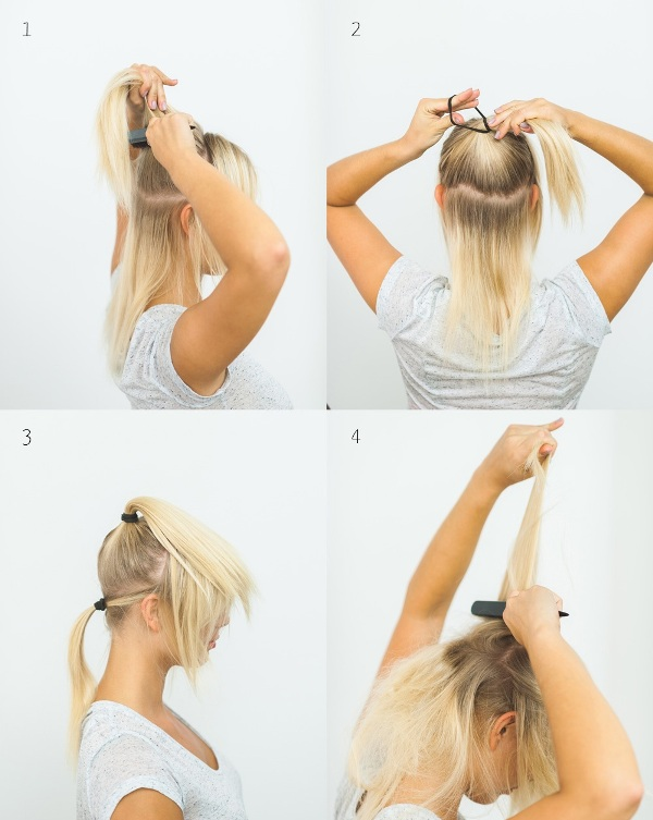 Picture Of effortlessly chic diy olivia palermo inspired ponytail  2