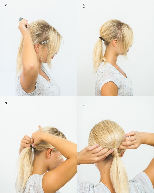 Picture Of effortlessly chic diy olivia palermo inspired ponytail  3