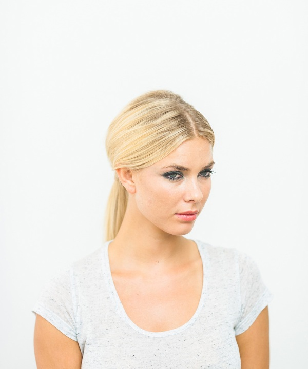Picture Of effortlessly chic diy olivia palermo inspired ponytail  4