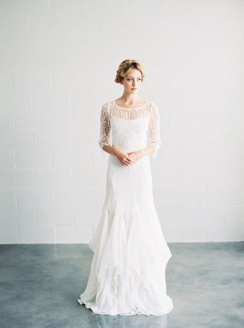 Effortlessly Romantic Saint Isabel 2015 Bridal Collection