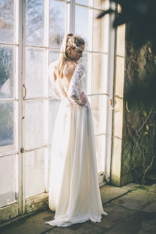 Elegant And Delicate Maria Senvo 2014 Wedding Dresses Collection