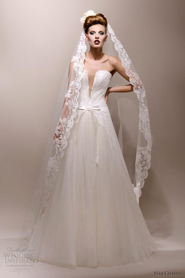 Elegant And Fashionable Wedding Gowns By Max Chaoul - Weddingomania