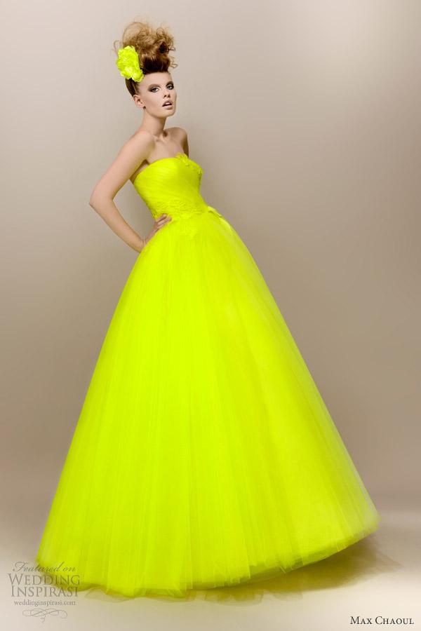Elegant And Fashionable Wedding Gowns By Max Chaoul Weddingomania