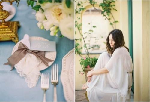 Elegant And Intimate Old World Style Wedding Inspiration