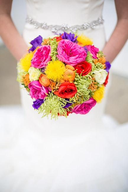 Picture Of elegant and stylish neon themed wedding shoot  3