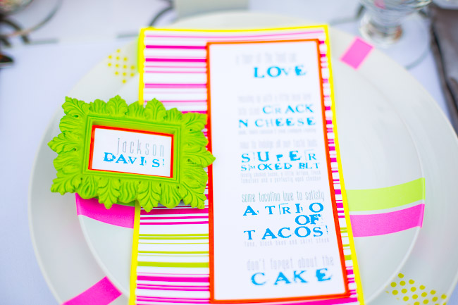 Picture Of elegant and stylish neon themed wedding shoot  9