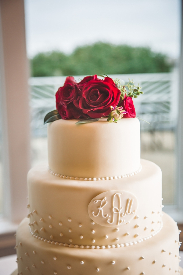 Picture Of elegant and trendy marsala colored fall wedding  11