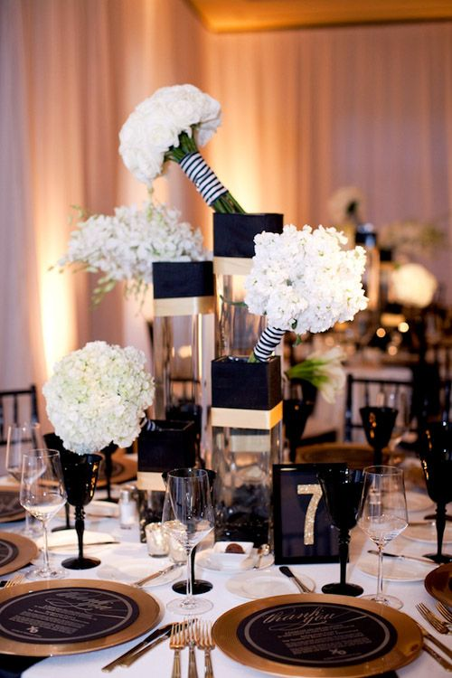 Super Elegant Black And Gold Wedding Ideas