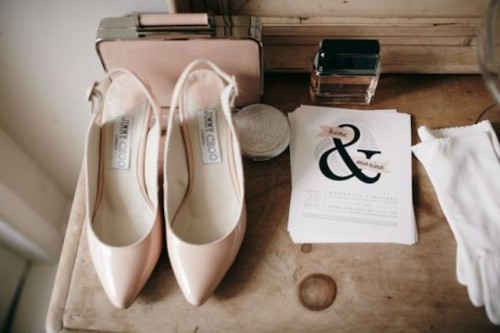 Elegant Black And Blush Pink Summer Wedding Inspiration