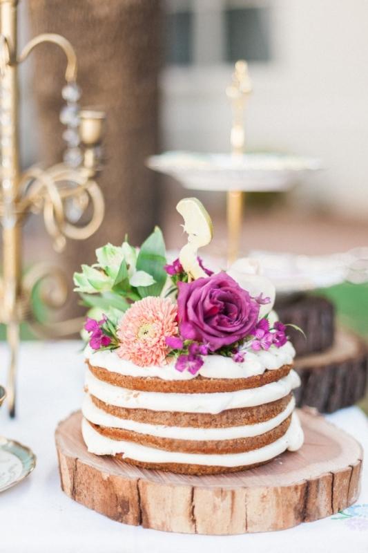 Picture Of elegant bohemian garden wedding inspiration  10