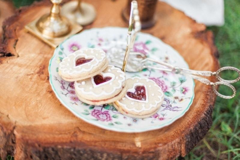 Picture Of elegant bohemian garden wedding inspiration  11