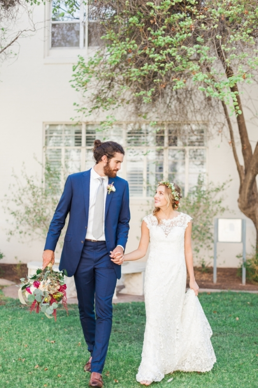 Picture Of elegant bohemian garden wedding inspiration  13