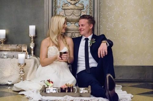 Elegant Christmas Themed Wedding Inspiration