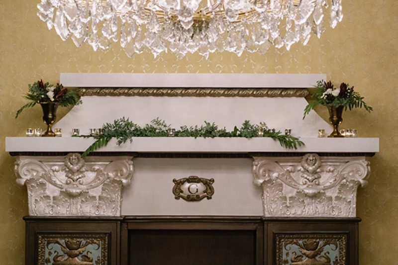 Picture Of elegant christmas themed wedding inspiration  6