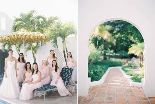 Elegant Destination Wedding In Anguilla With Hot Pink Touches
