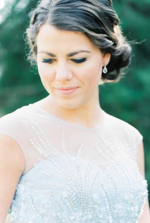 Elegant Dusky Blue Wedding Inspiration At A Dutch Castle