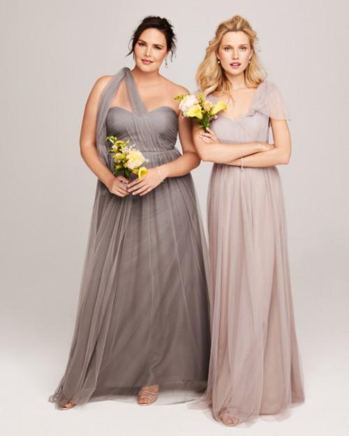 Elegant Mismatched Bridesmaids' Dresses From Nordstrom