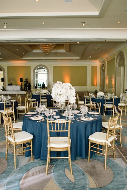 34 elegant navy and gold wedding ideas weddingomania elegant navy and gold wedidng ideas junglespirit Images