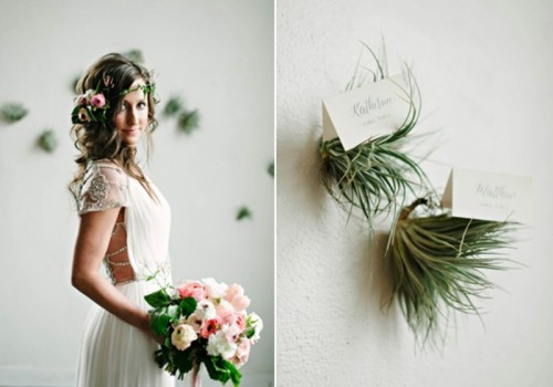 Elegant Organic Wedding Inspiration With Lush Greenery