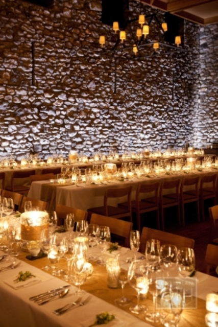 Elegant Rustic Candlelit Wedding Inspiration