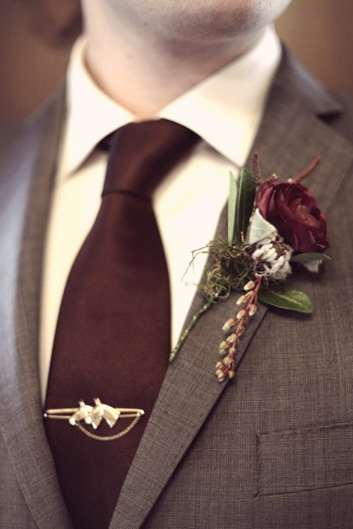 Elegant Vintage Boutonnieres