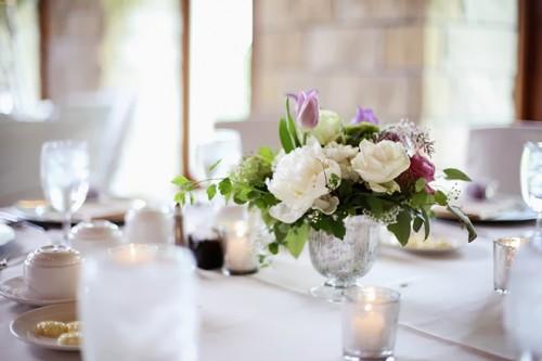 Elegant Wedding With Bold Plum Touches