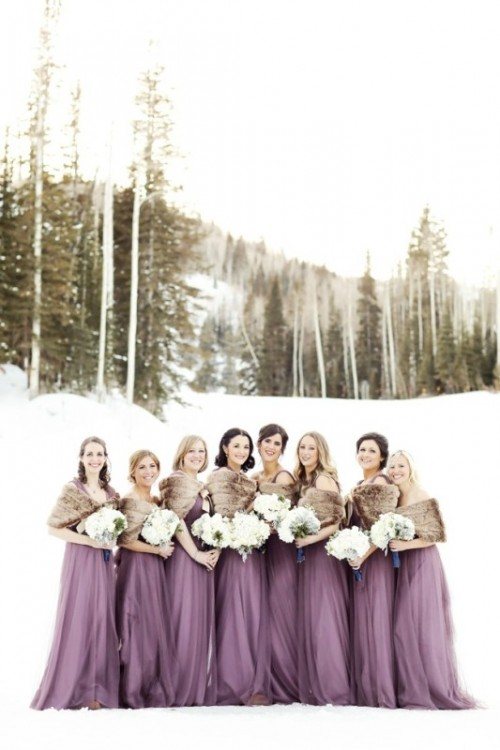 Elegant Winter Mountain Wedding At Canyons Resort