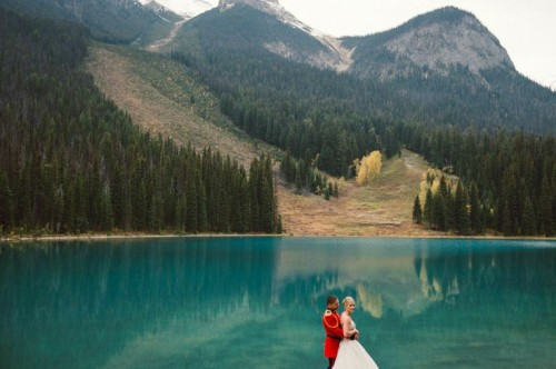 Elopement Wedding Shoot In The Canadian Rockies