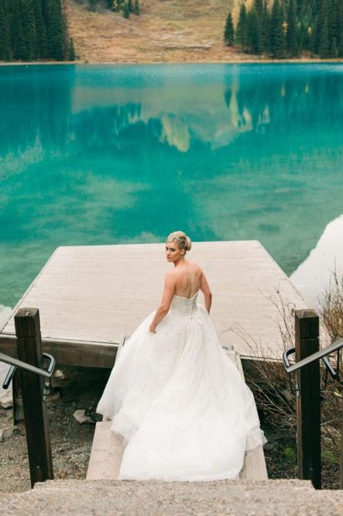 Elopement Wedding Shoot In The Canadian Rockies
