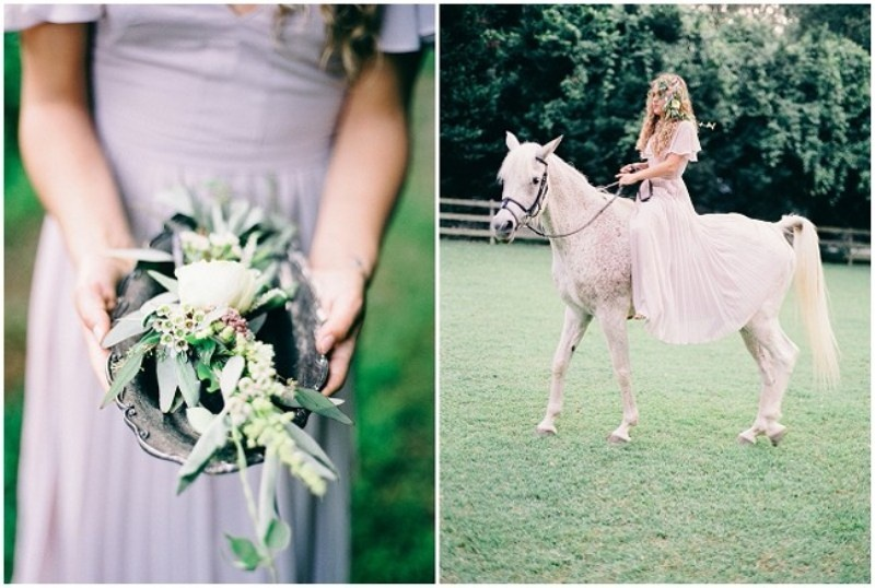 Picture Of enchanting bohemian equestrian styled shoot  2