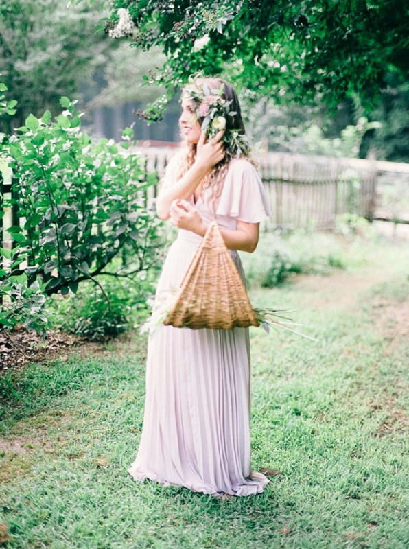 Picture Of enchanting bohemian equestrian styled shoot  6